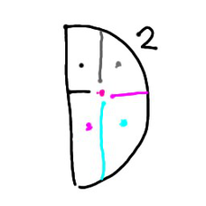 D²(ドリームドリーム)とすみれ(各メンバー垢)のユーザーアイコン