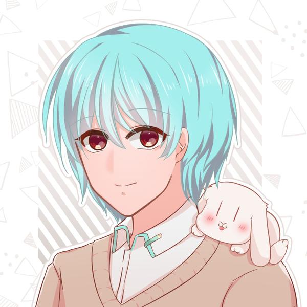 ユキトくん&白兎(漢字名:雪兎)のユーザーアイコン