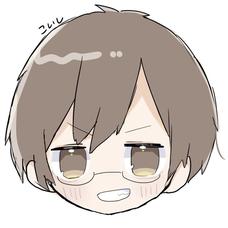 しらす掛けたメガネのユーザーアイコン