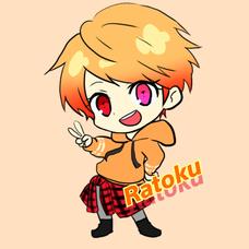 Ratoku@はるいちらとのユーザーアイコン