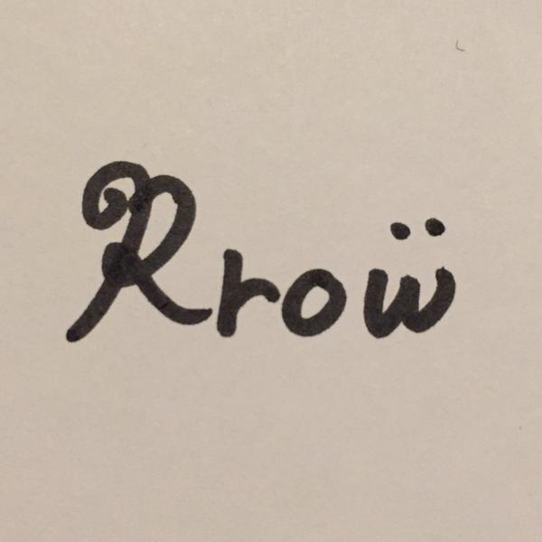 Rrowのユーザーアイコン