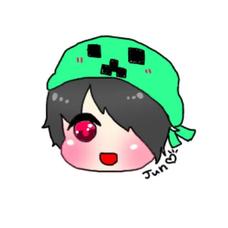 J(ジュン)別名:緑の人のユーザーアイコン