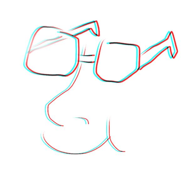 メガネリストのユーザーアイコン