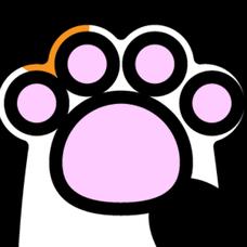 猫の足のユーザーアイコン