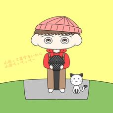 山田って苗字多いから山田、ぺっぺっぺーのユーザーアイコン