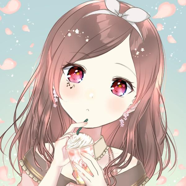 桜 🌸 🌹世界は恋に落ちている🌸 聴きnana遅れてすみません( ᵒ̴̶̷᷄꒳ᵒ̴̶̷᷅ )🥺のユーザーアイコン