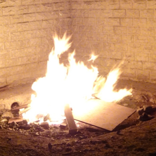 焚き火のユーザーアイコン