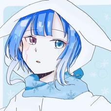 *yuzu*@Snow❄️dropの青🐐のユーザーアイコン