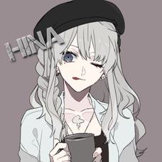 HiNAのユーザーアイコン