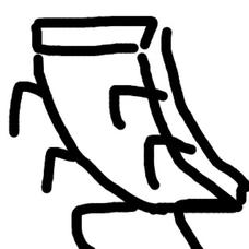 剥がれかけた塗装のユーザーアイコン