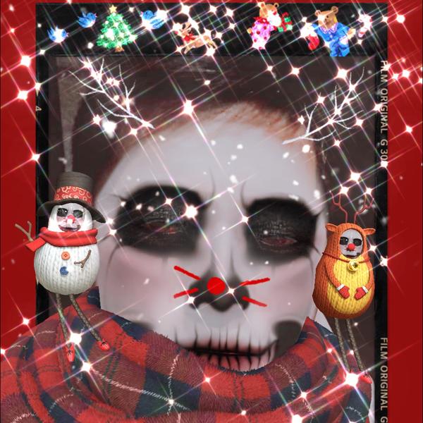アサカヅ@罰ゲームアイコン(クリスマスver)のユーザーアイコン