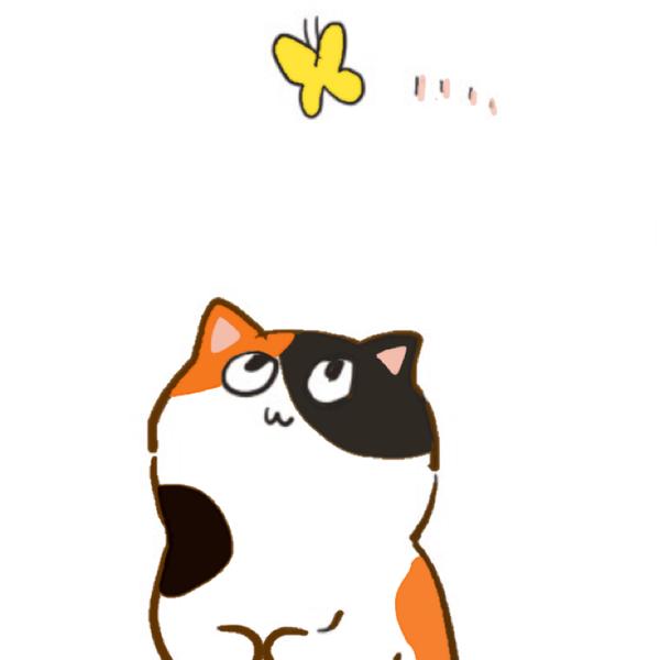 三毛猫のユーザーアイコン