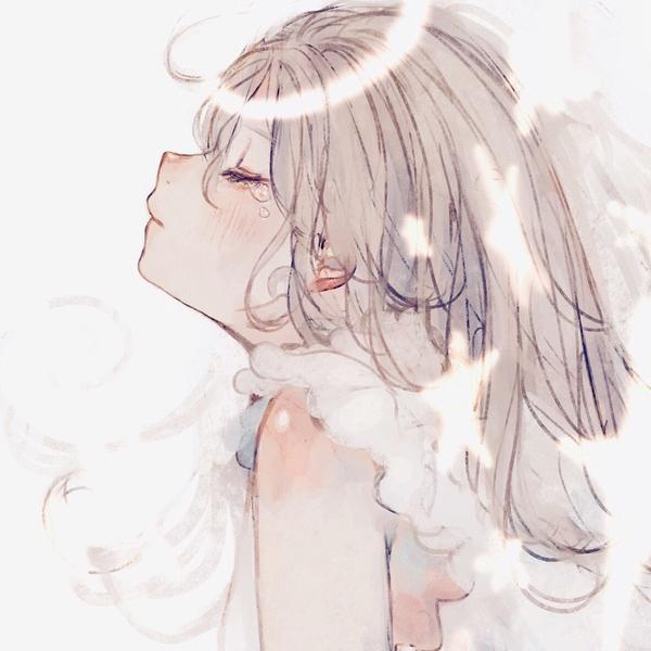 🌷☁ Look at the profileのユーザーアイコン