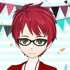 紅緑のユーザーアイコン