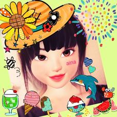 ☆aina☆(*☻o☻*)ちょろりと浮上♡のユーザーアイコン