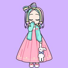ぷる姫⋈♡*。゚~低浮上💜Slowly~🐼♥️のユーザーアイコン