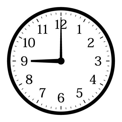 9時のユーザーアイコン