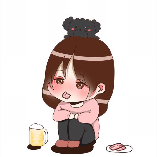 hani (⁎⁍̴̛ᴗ⁍̴̛⁎)♡ 休息中のユーザーアイコン