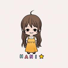 hani ୧⃛(๑⃙⃘⁼̴̀꒳⁼̴́๑⃙⃘)୨⃛のユーザーアイコン
