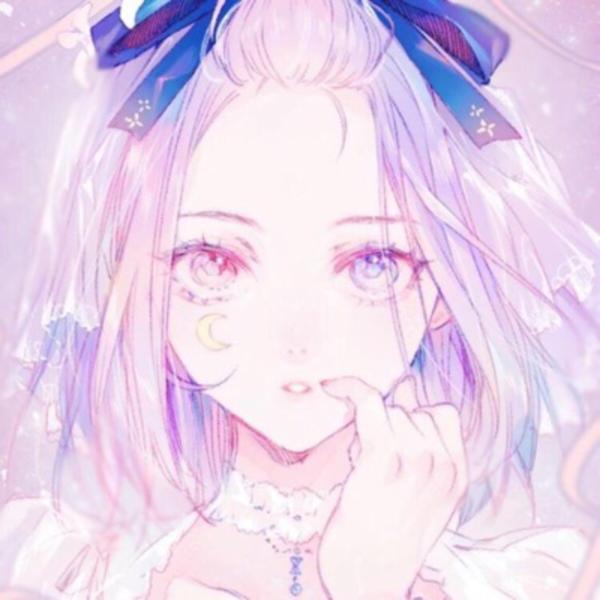 ピンクのユーザーアイコン