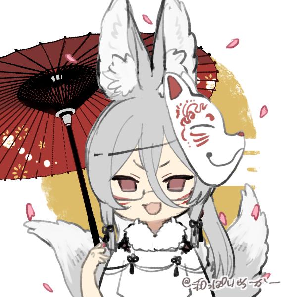 白狐(twins・crystal)のユーザーアイコン