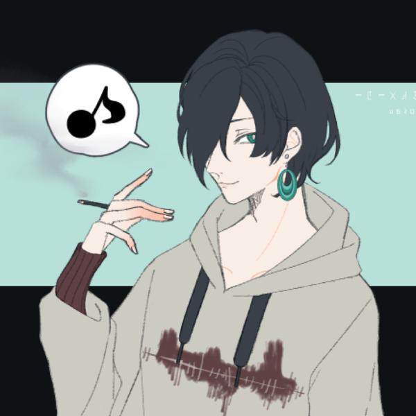 玲於 ・//・ 黒く塗りつぶせのユーザーアイコン