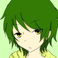 緑猫のユーザーアイコン