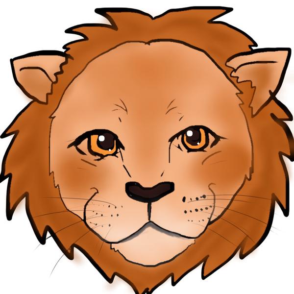 笑顔のライオンのユーザーアイコン