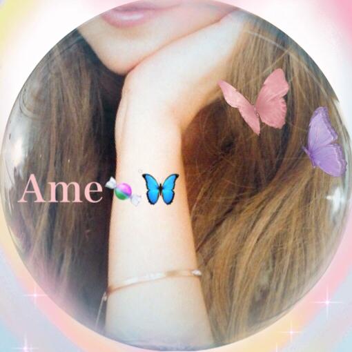 🍀🦋🍭🍬〜Ame〜気まぐれに〜🍬🍭🦋🍀のユーザーアイコン