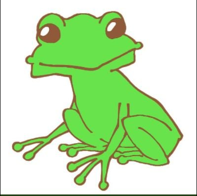 蛙のユーザーアイコン