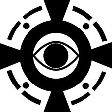 モノクロームのユーザーアイコン