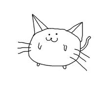 白猫のユーザーアイコン