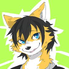 黒狐(稲荷一家)のユーザーアイコン