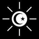 月と太陽のユーザーアイコン