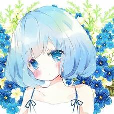 藍のユーザーアイコン
