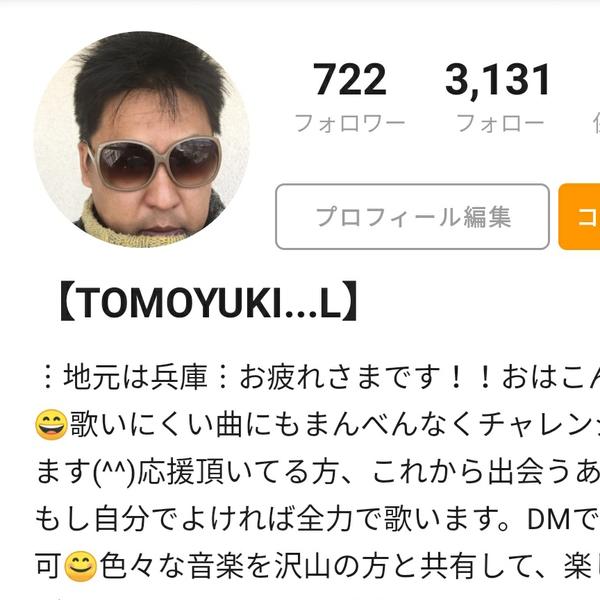 【TOMOYUKI...L】のユーザーアイコン