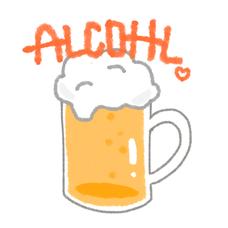 アルコール消毒中のユーザーアイコン
