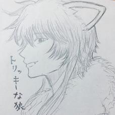 トリッキーな狼のユーザーアイコン
