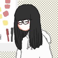 黒縁メガネちゃんのユーザーアイコン