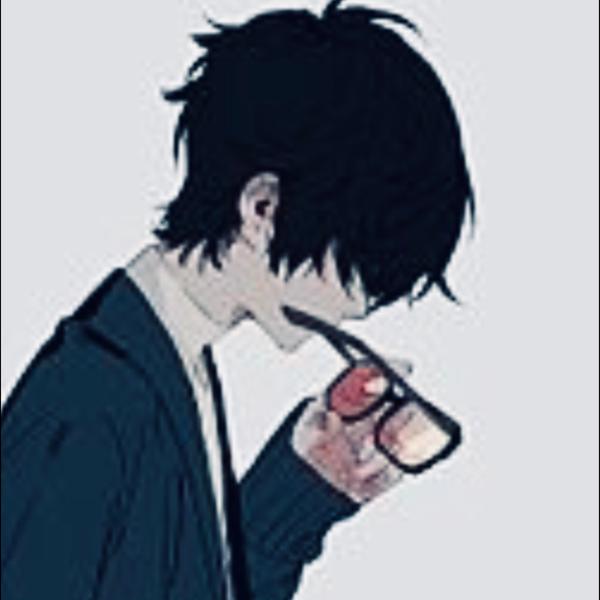 黒丸のユーザーアイコン