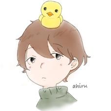鳥(アヒル)のユーザーアイコン