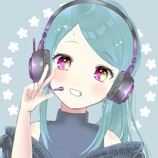 しろるまひめ 録音用のユーザーアイコン