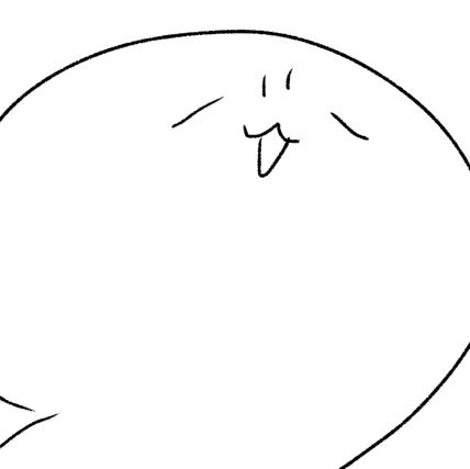 黒い白クマのユーザーアイコン