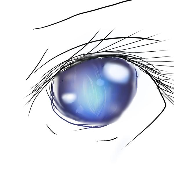 くらげと思いきや目(間違え防止のユーザーアイコン
