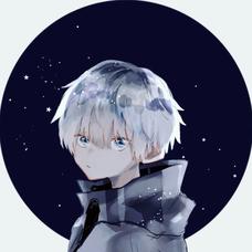 藍色のユーザーアイコン