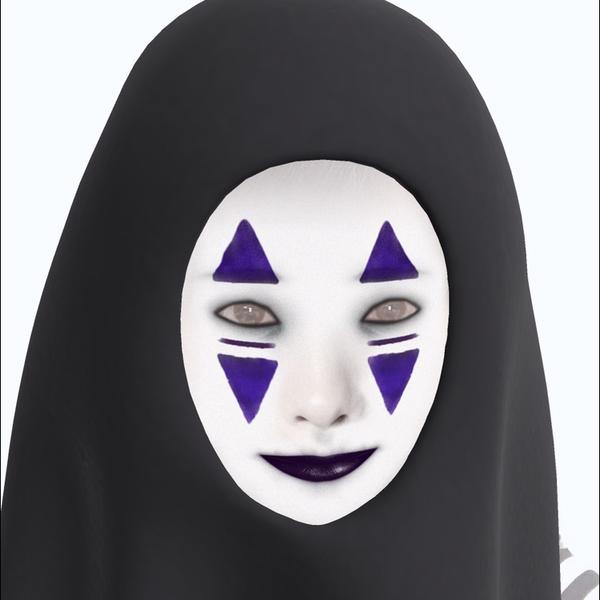 あみ♬ iconハロウィン カオナシに仮装中のユーザーアイコン