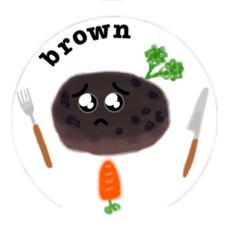 ブラウンのユーザーアイコン