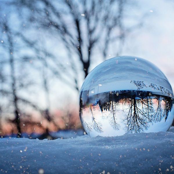 雪模様のユーザーアイコン