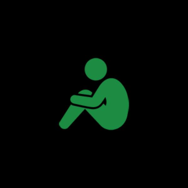 体育座りのユーザーアイコン