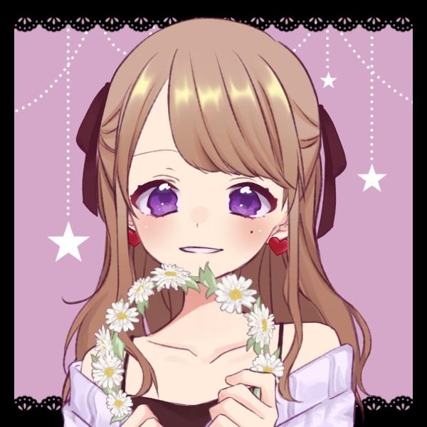 紫花 / 録音・応募用のユーザーアイコン